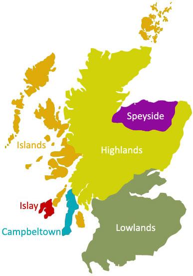 The Regions of Scottish whisky   kilchoman